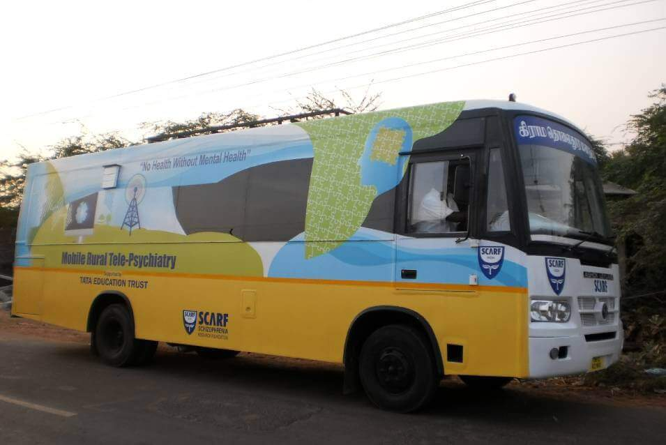 Mobile Rural Tele-Psychiatry supported by TATA Education Trust