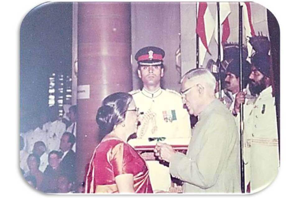 Padmabushan ~1992 (one of the highest civilian award in the Republic of India)